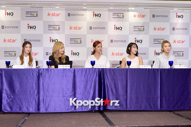 4Minute Attends a Video Press Conference - Jul 6, 2015key=>19 count56