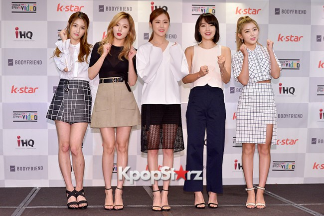 4Minute Attends a Video Press Conference - Jul 6, 2015key=>22 count56