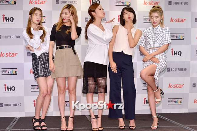 4Minute Attends a Video Press Conference - Jul 6, 2015key=>24 count56