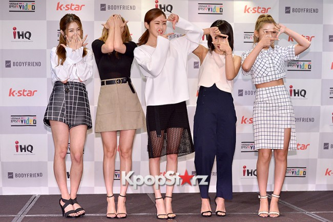 4Minute Attends a Video Press Conference - Jul 6, 2015key=>26 count56