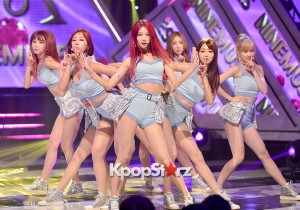 9MUSES[Hurt Lock] at MBC Music Show Champion - Jul 8, 2015