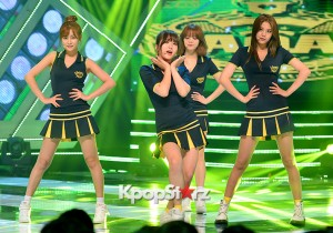 AOA [Heart Attack] at MBC Music Show Champion - Jul 8, 2015