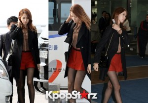 Girls' Generation (SNSD) Yoona's Perfect Airport Fashion
