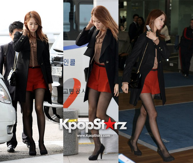 Girls' Generation (SNSD) Yoona's Perfect Airport Fashionkey=>0 count1