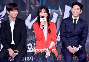 Press Conference of MBC Drama 'The Scholar Who Walks The Night' - Jul 7, 2015