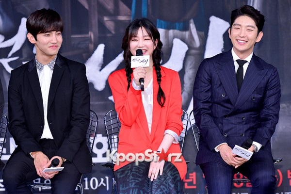 Press Conference of MBC Drama 'The Scholar Who Walks The Night' - Jul 7, 2015key=>0 count49