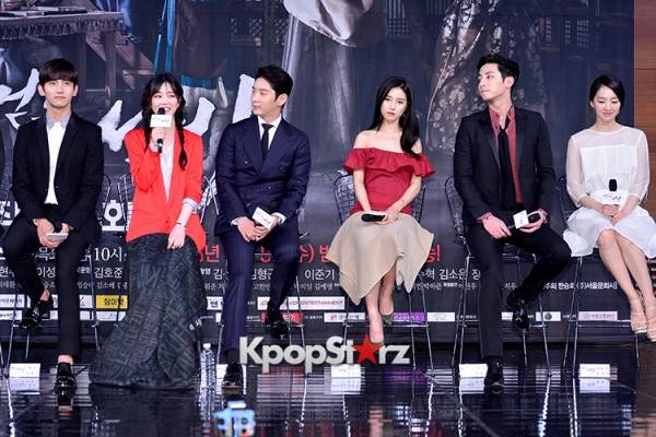 Press Conference of MBC Drama 'The Scholar Who Walks The Night' - Jul 7, 2015key=>23 count49
