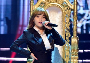 MC Kim Shin Young at MBC Music Show Champion - Jul 8, 2015