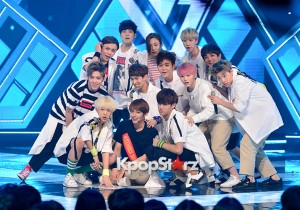 SEVENTEEN [Adore U] at MBC Music Show Champion - Jul 8, 2015