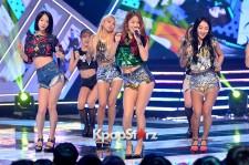 Sistar [Shake It] at MBC Music Show Champion - Jul 8, 2015