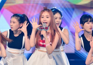 Song Haye [Ice Summer] at MBC Music Show Champion - Jul 8, 2015