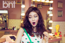Korean Actress Gong Seung Yeon BNT International Magazine July 2015 BTS