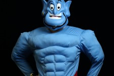 Man in Genie costume.