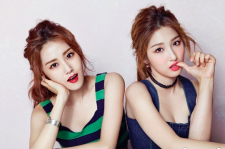 4Minute's Gayoon and Jihyun Star1 August MAgazine 2015