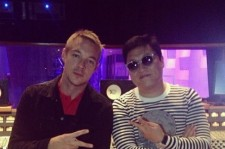 Psy and Diplo