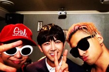 Big Bang G-Dragon Kwanghee and Taeyang