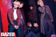 K-Pop BEAST Dazed & Confused Magazine August 2015 Photoshoot Fashion