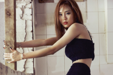 miss A Fei Marie Claire MAgazine August 2015 Photoshoot