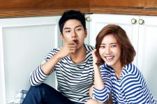 Son Dam Bi and Lee Yi Kyung Cosmopolitan Magazine August 2015 Photoshoot Fashion