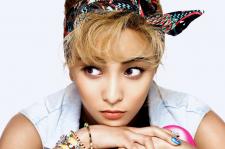 f(x)'s Luna Cosmopolitan Magazine August 2015 Photoshoot Fashion Vintage Hollywood