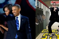 Obama Thinks He Can Do Gangnam Style? (Photo Credit: Daily News)