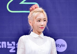 Girls' Generation[SNSD] Taeyeon at a Press Conference of OnStyle Channel SNSD