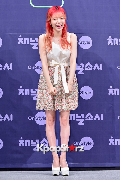 Girls' Generation[SNSD] Sunny at a Press Conference of OnStyle Channel SNSD key=>10 count25
