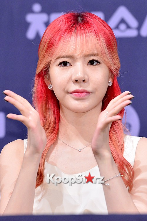 Girls' Generation[SNSD] Sunny at a Press Conference of OnStyle Channel SNSD key=>18 count25