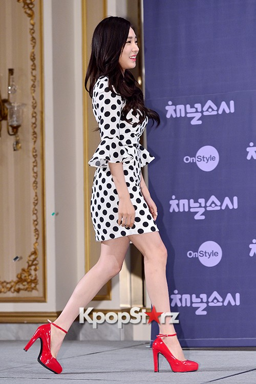 Girls' Generation[SNSD] Tiffany at a Press Conference of OnStyle Channel SNSD key=>1 count27
