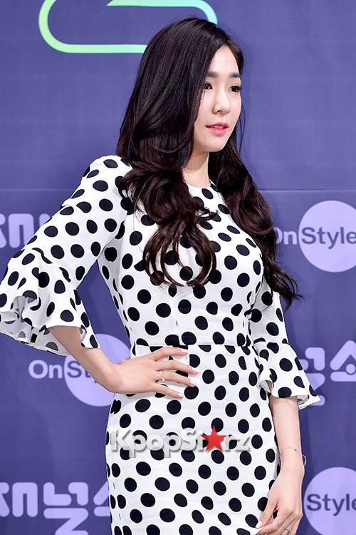 Girls' Generation[SNSD] Tiffany at a Press Conference of OnStyle Channel SNSD key=>4 count27