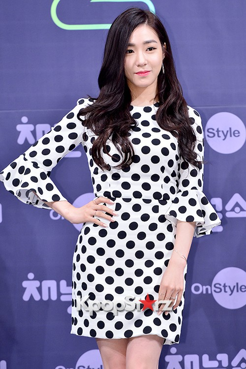 Girls' Generation[SNSD] Tiffany at a Press Conference of OnStyle Channel SNSD key=>5 count27