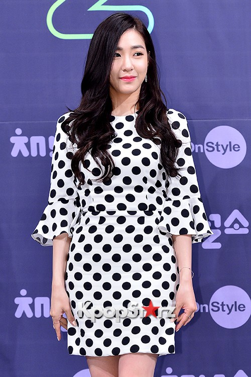 Girls' Generation[SNSD] Tiffany at a Press Conference of OnStyle Channel SNSD key=>6 count27