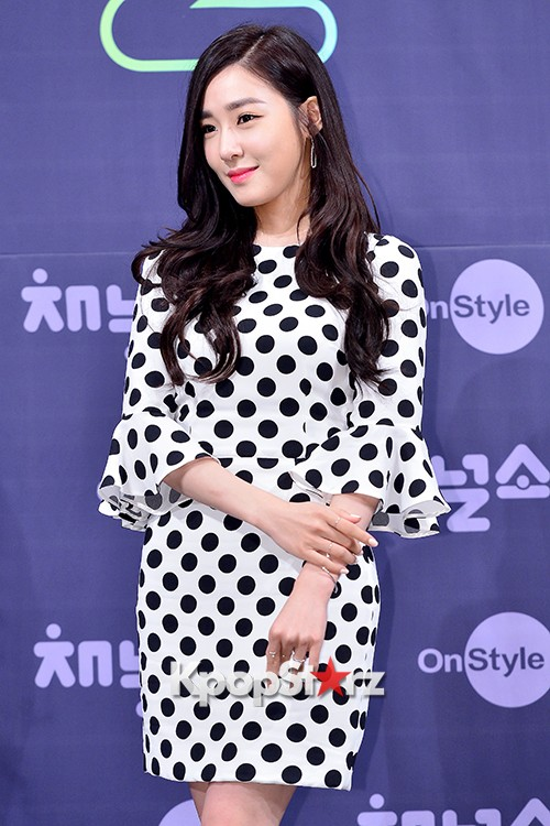 Girls' Generation[SNSD] Tiffany at a Press Conference of OnStyle Channel SNSD key=>7 count27