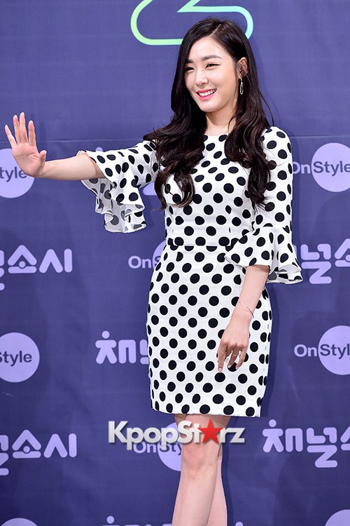 Girls' Generation[SNSD] Tiffany at a Press Conference of OnStyle Channel SNSD key=>8 count27