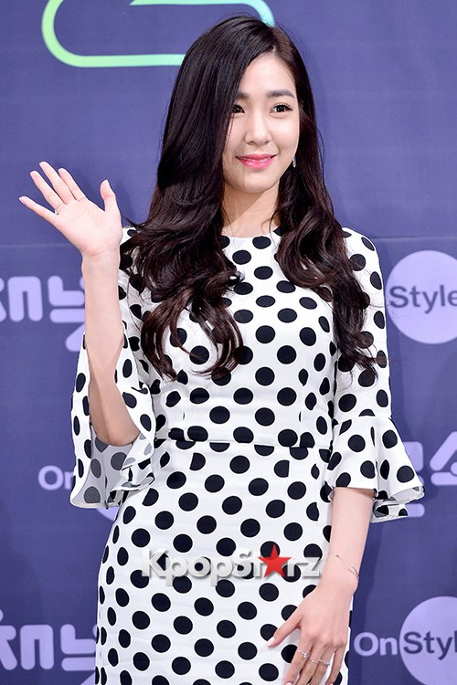 Girls' Generation[SNSD] Tiffany at a Press Conference of OnStyle Channel SNSD key=>11 count27