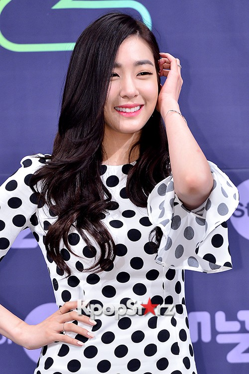 Girls' Generation[SNSD] Tiffany at a Press Conference of OnStyle Channel SNSD key=>12 count27