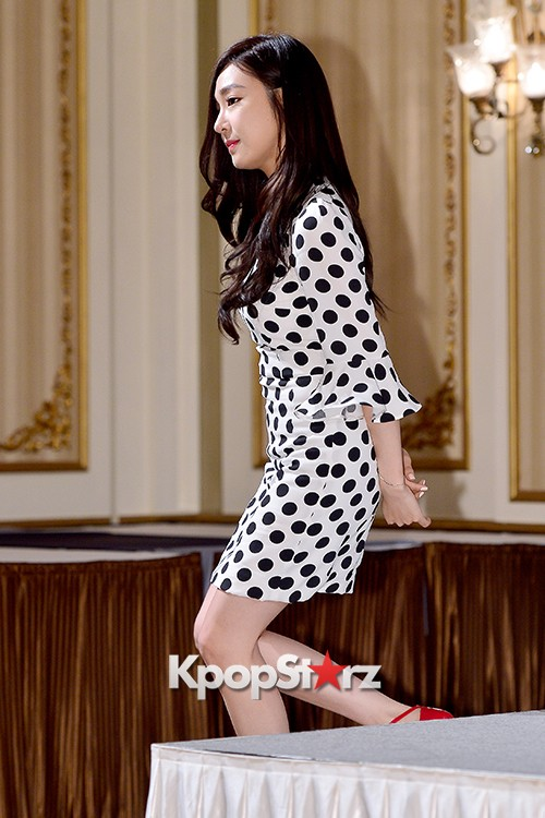 Girls' Generation[SNSD] Tiffany at a Press Conference of OnStyle Channel SNSD key=>14 count27