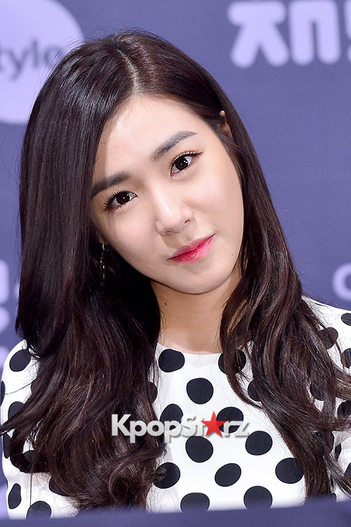 Girls' Generation[SNSD] Tiffany at a Press Conference of OnStyle Channel SNSD key=>16 count27
