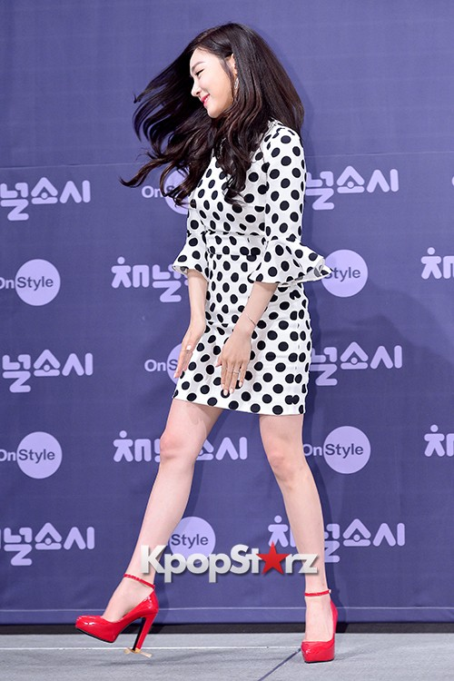 Girls' Generation[SNSD] Tiffany at a Press Conference of OnStyle Channel SNSD key=>19 count27