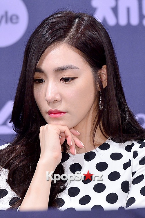 Girls' Generation[SNSD] Tiffany at a Press Conference of OnStyle Channel SNSD key=>20 count27