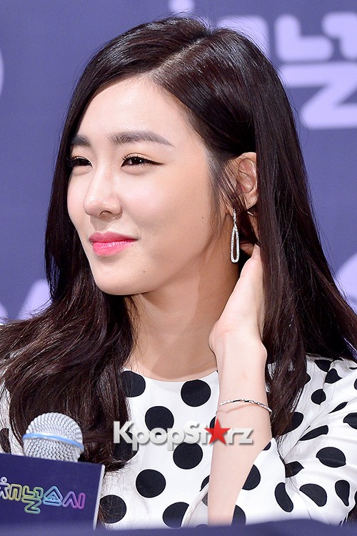 Girls' Generation[SNSD] Tiffany at a Press Conference of OnStyle Channel SNSD key=>21 count27