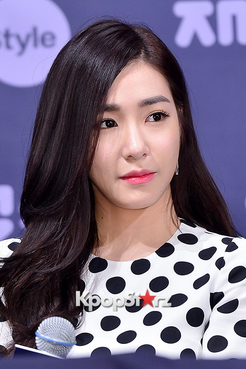 Girls' Generation[SNSD] Tiffany at a Press Conference of OnStyle Channel SNSD key=>23 count27