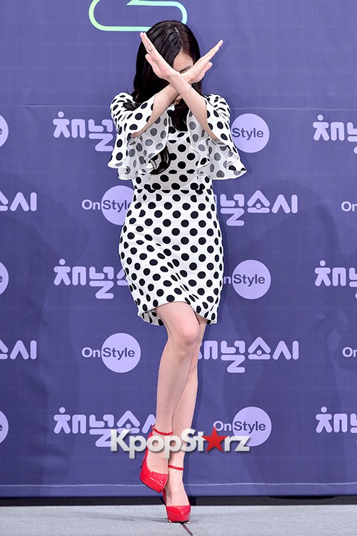 Girls' Generation[SNSD] Tiffany at a Press Conference of OnStyle Channel SNSD key=>24 count27