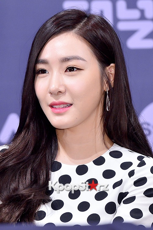 Girls' Generation[SNSD] Tiffany at a Press Conference of OnStyle Channel SNSD key=>26 count27