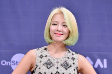 Girls' Generation[SNSD] Hyoyeon at a Press Conference of OnStyle Channel SNSD