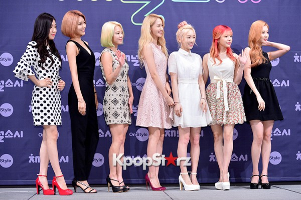 Girls' Generation[SNSD] at a Press Conference of OnStyle Channel SNSD key=>1 count23