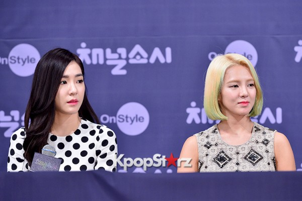 Girls' Generation[SNSD] at a Press Conference of OnStyle Channel SNSD key=>3 count23