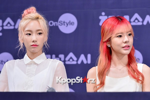 Girls' Generation[SNSD] at a Press Conference of OnStyle Channel SNSD key=>4 count23
