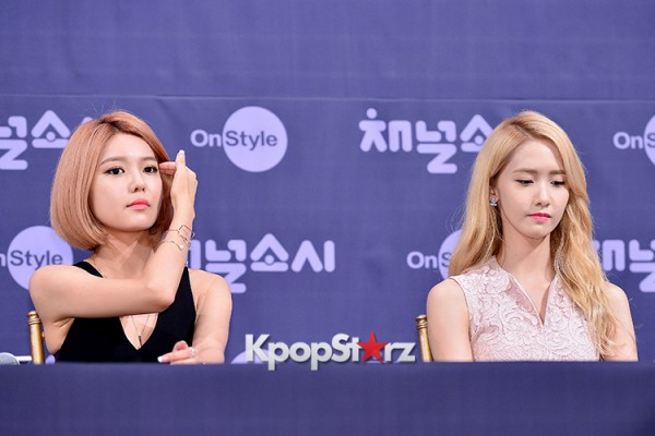 Girls' Generation[SNSD] at a Press Conference of OnStyle Channel SNSD key=>5 count23