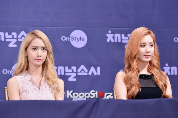 Girls' Generation[SNSD] at a Press Conference of OnStyle Channel SNSD key=>7 count23